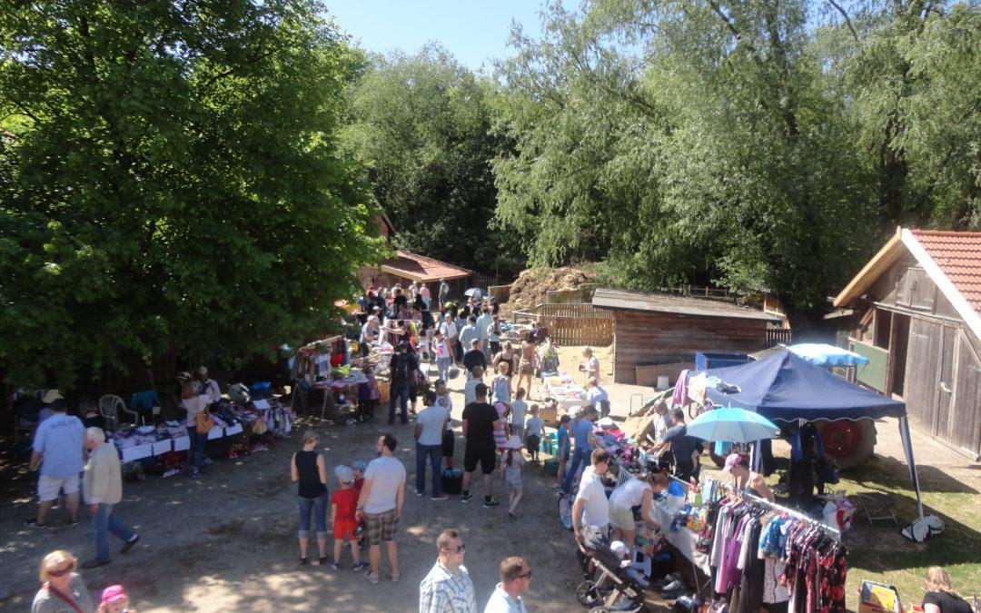 Familiensonntag mit Flohmarkt am 11. August
